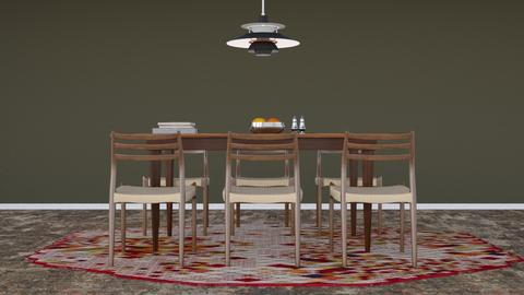 Scaninavian vintage - Vintage - Dining room - by HenkRetro1960