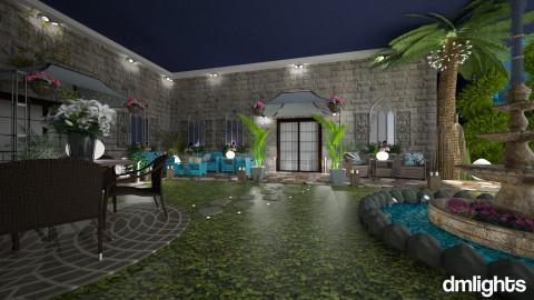 Villa2 - Rustic - Garden - by DMLights-user-981898