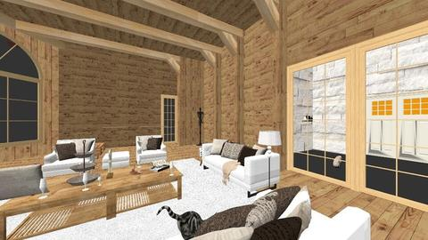 chalet light brown - Country - Living room - by Nick Burckhard