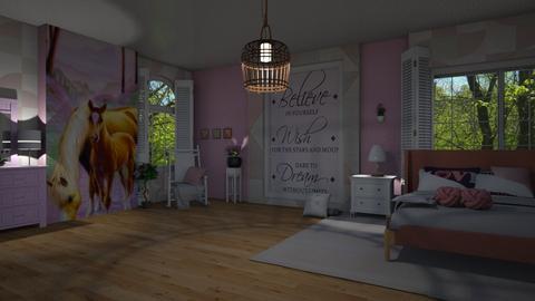 Teenage Girl - Modern - Bedroom - by Sue Bonstra