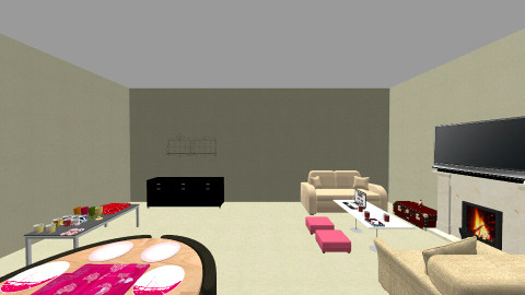 LOVEMYROOM222LOVELOVELOVE - Classic - Living room - by CassyYT