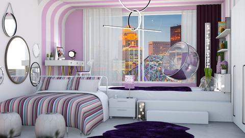 teen room - Bedroom - by soralobo