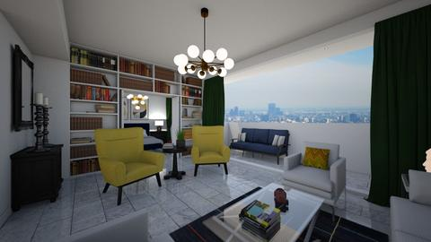 LA Condo - Modern - Living room - by deleted_1565009666_athinaste