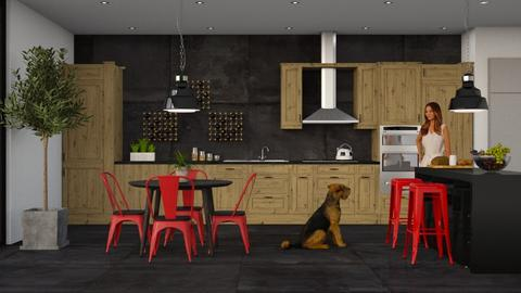 IP Artisan Kitchen - Eclectic - Kitchen - by Theadora