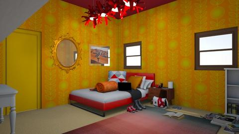 Cahira - Bedroom - by strongsteadfast