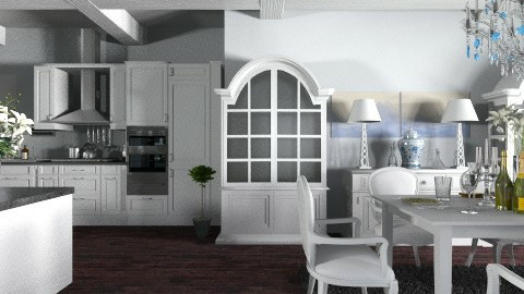 dream - Minimal - Kitchen - by nataliaMSG