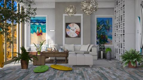 Surf Livingroom - by Laura_Barsa