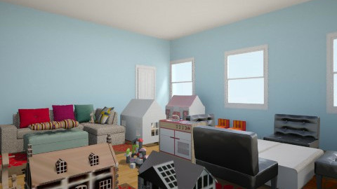 Woods Cottage Playroom 2 - Kids room - by Grace10987