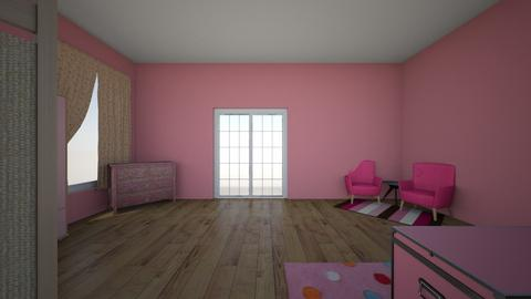 pink room - Kids room - by karlee12
