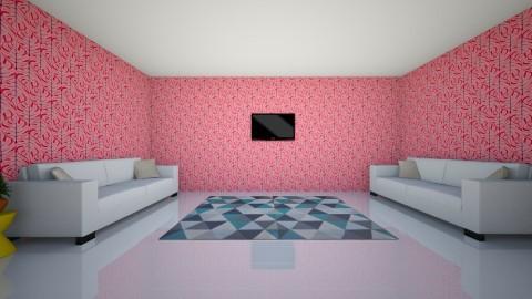 Summer Time Living Room - by ISHITHA TELUGUNTLA