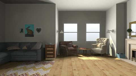 classic living room - Living room - by bethris
