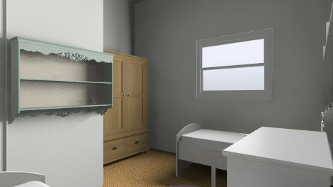 Twins option 4 - Kids room - by gaylefirmin