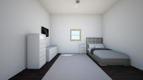 NEW ROOM - Bedroom - by mariavagi