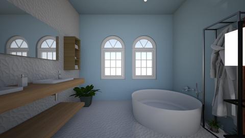 first bathroom - Modern - Bathroom - by begin_girl