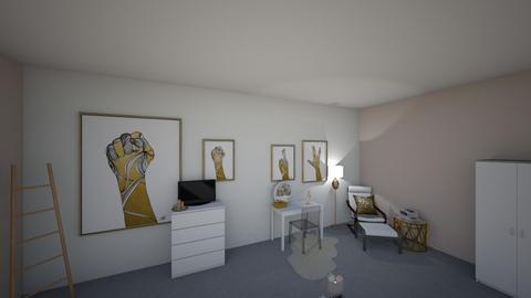Desiree - Bedroom - by Schneesi