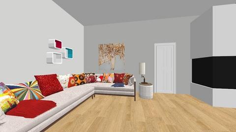 living room 1 - Living room - by hanlah