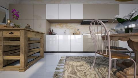 beige - Kitchen - by ana111