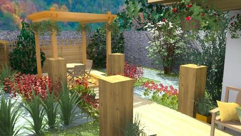 Oasis in the valley - Modern - Garden - by KittiFarkas