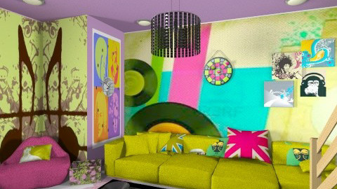 Pop Up - Modern - Living room - by sricha