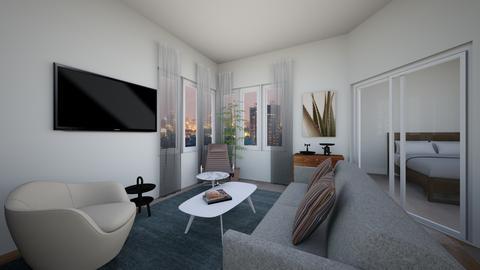 BC1br88 - Living room - by evakarwowska