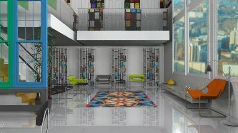 bauhaus living - Minimal - Living room - by auntiehelen