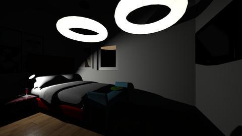 kah room - Bedroom - by fernanda urrea