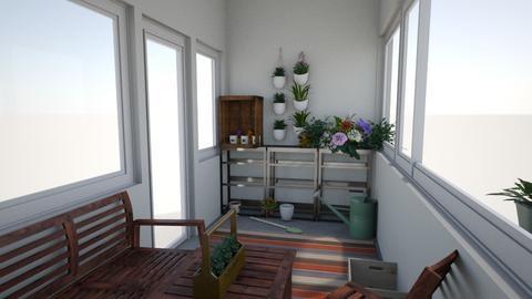 balcony - Garden - by maryteuchler
