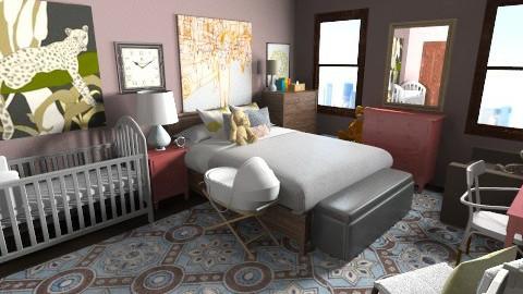 Family Bedroom - Eclectic - Bedroom - by lauren_murphy