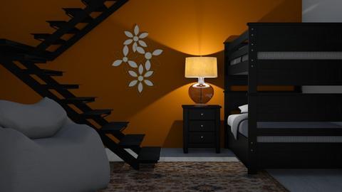 Pumpkin Wall - Classic - Bedroom - by millerfam