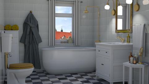 Golden details - Bathroom - by Tuija