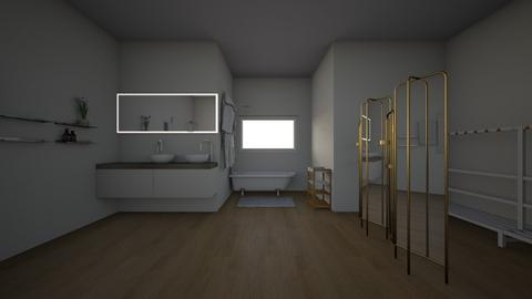 Bathroom - Modern - Bathroom - by Laila123_OkBoomer