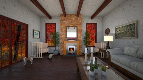 Rustic - Living room - by VeroDale