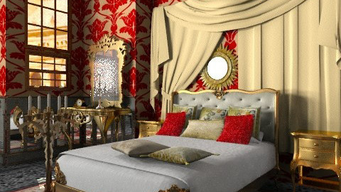 Rudolf's Bedroom - Classic - Bedroom - by Bibiche