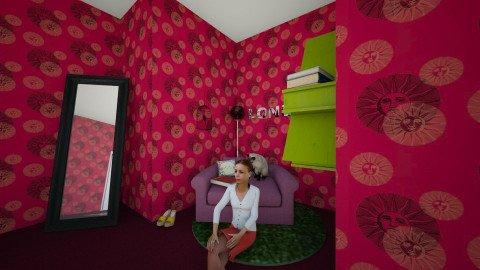 My Room - Bedroom - by lynne9323