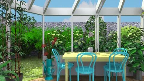 Falabella Garden Escape - Garden - by fenwayb