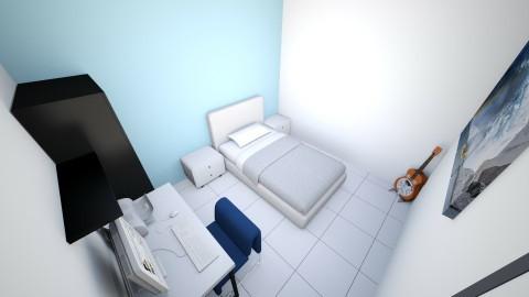 Door to right - Minimal - Bedroom - by willyap
