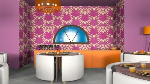 resturant - Minimal - Dining room - by livliv