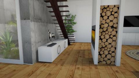 desert living room - Living room - by AgaRy