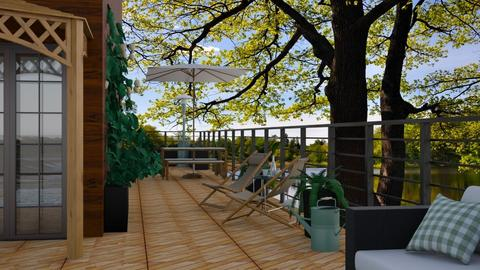 deck and pond - by antonia_b