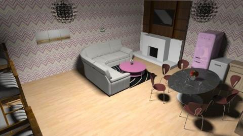 room - Bedroom - by PSophie