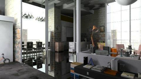 WarehouseProjekte - Eclectic - Living room - by camilla_saurus
