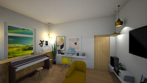 Living Room Version 2 - Living room - by gaietta_aa