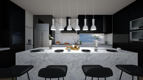 SIDE GARDEN - Kitchen - by flacazarataca_1