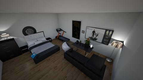 room - Modern - Bedroom - by Jathan