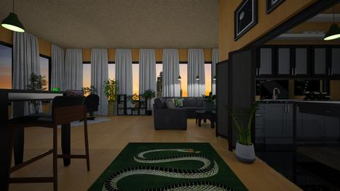urban jungle - Living room - by allday08