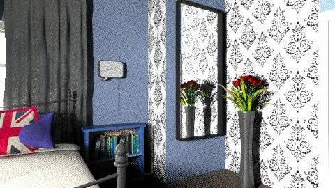 Carlotte - Glamour - Bedroom - by KarolinaZ
