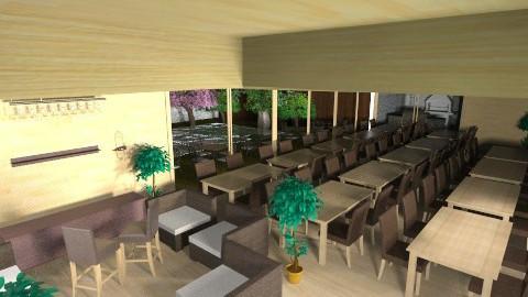 progetto ristorante casa  - by livia87