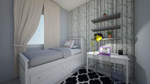 Small  Bedroom  - Bedroom - by Savannah G