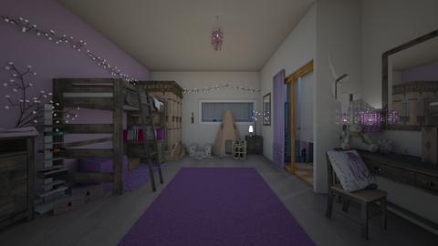 50 Shades of Purple - Eclectic - Bedroom - by tieganclayton