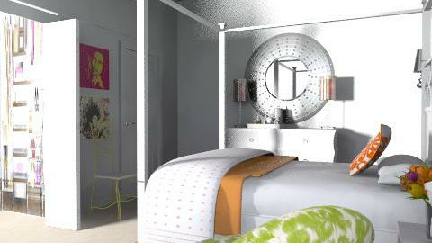 my perfect bedroom - Glamour - Bedroom - by AlSudairy S